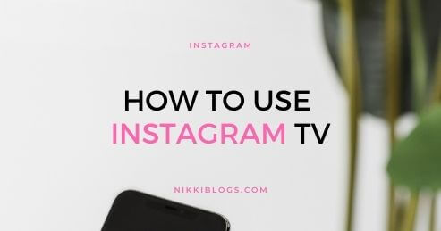 how to use instagram tv - instagram category