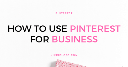 text reads how to use pinterest for business
