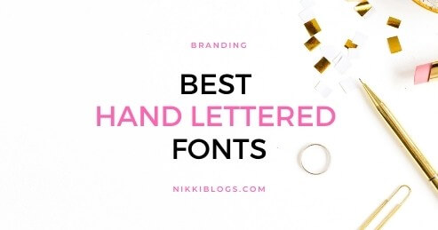 text reads best hand lettered fonts