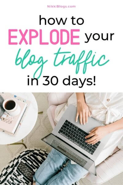 increase blog traffic - 30 days