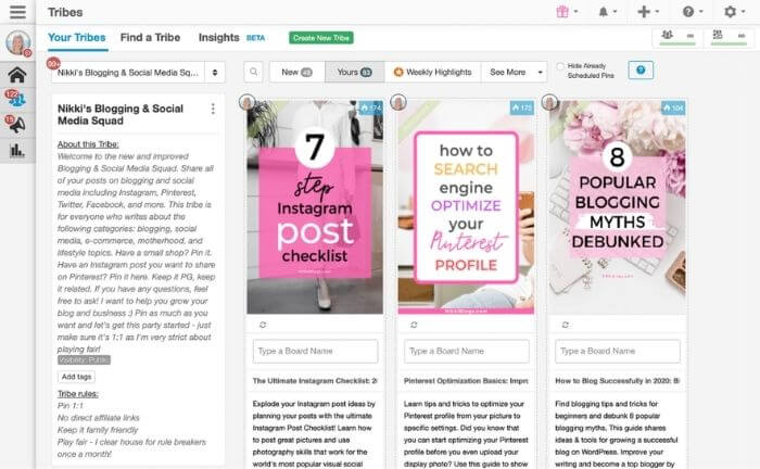 increase blog traffic with tailwind for pinterest