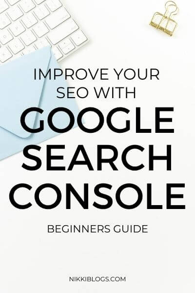 google search console - improve seo