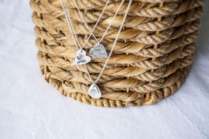 handmade sterling silver necklaces by smallprint vancouver north