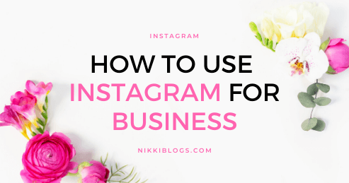 text reads how to use instagram for business
