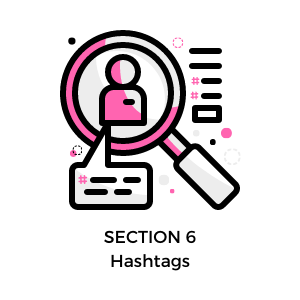 free instagram course - hashtags