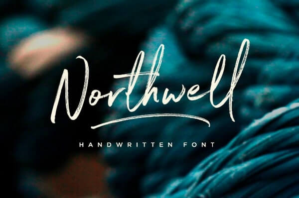 text reads northwell in white beige against turquoise background