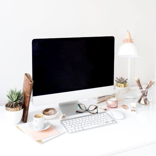 instagram post ideas for small business - home office
