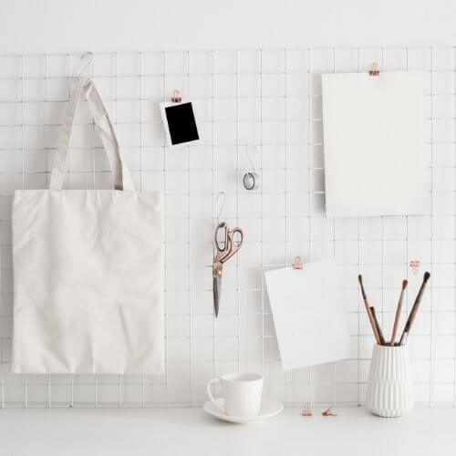 how to stay focused - keep your space organized and finish something else first
