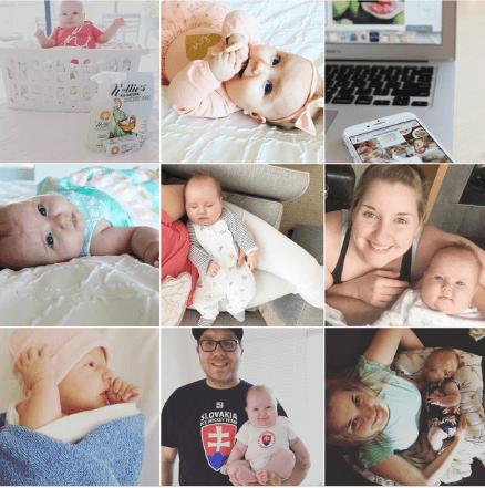 screenshot of nikkislivarich instagram blog feed from 2017