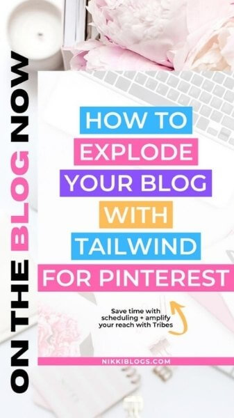 how to promote blog posts on instagram - example pin used to create instagram stories