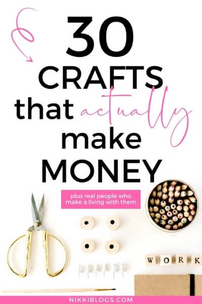 30 crafts to make and sell