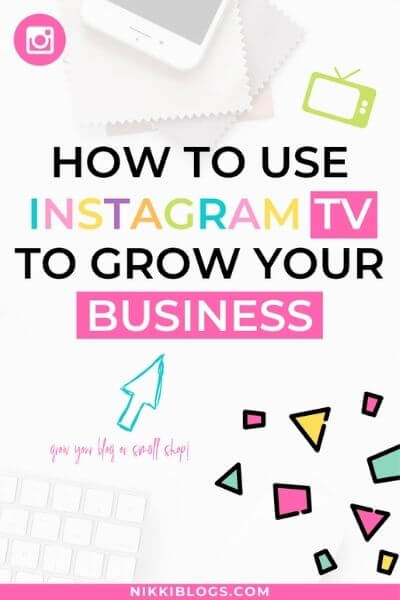 how to use instagram tv for business