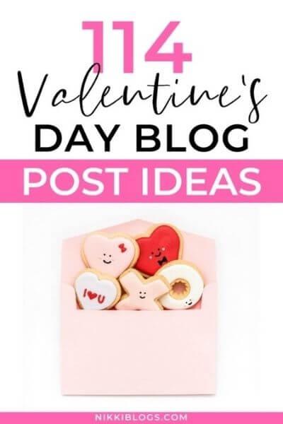 114 valentine's day blog post ideas