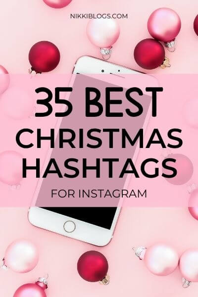 best Christmas hashtags for Instagram
