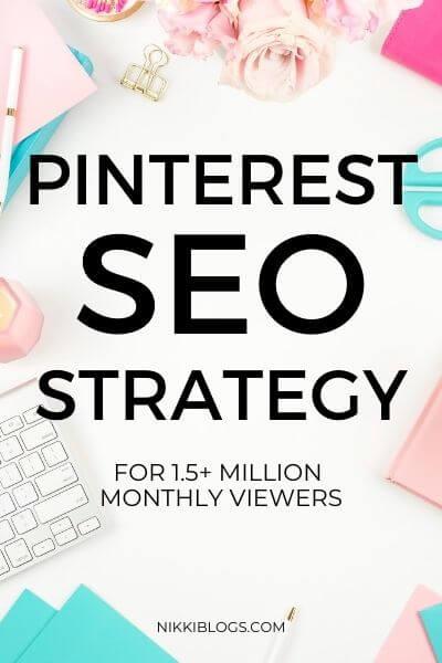 pinterest seo strategy