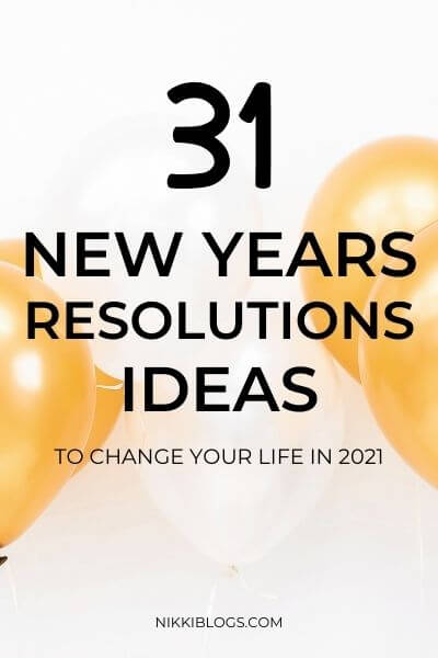 unique new years resolutions ideas