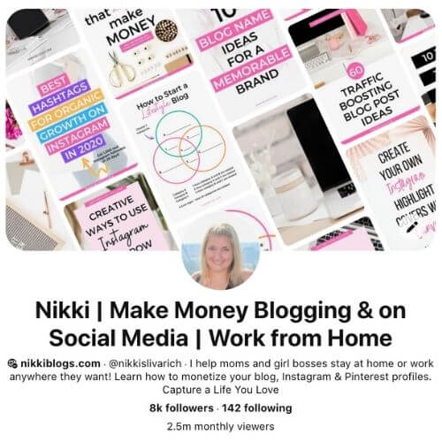 types of blogs that make money use pinterest