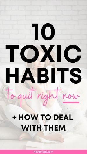 toxic habits to quit