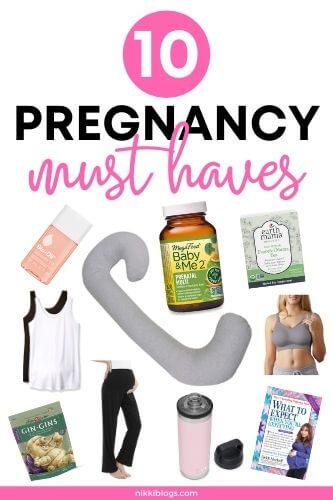 10 pregnancy must haves