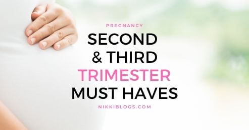 second third trimester pregnancy must haves