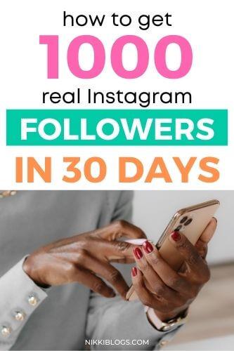1000 instagram followers in 30 days