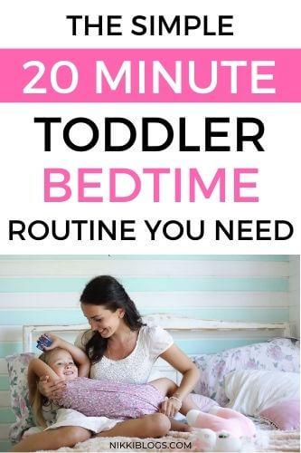 easy toddler bedtime routine