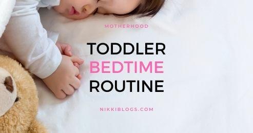 toddler bedtime routine