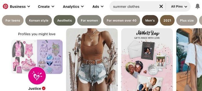 clothes pinterest board ideas