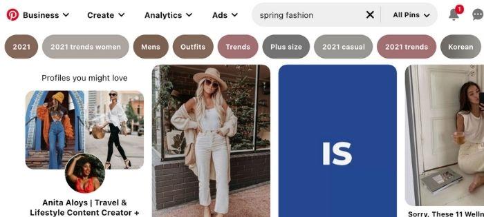 spring fashion board ideas