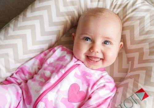 3.5 month old in dockatot deluxe
