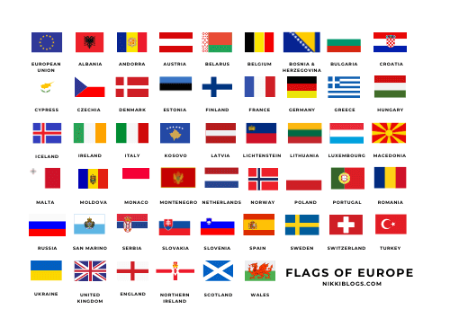 european flags coloring pages - guide