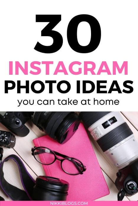 instagram photo ideas at home