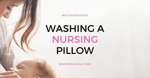 wash nursing pillow machine