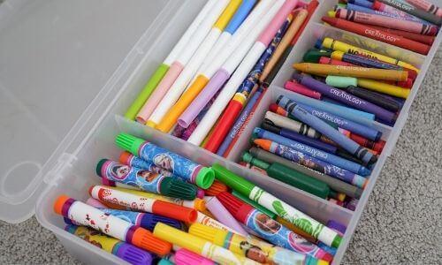 how to organize kids stuff with ikea glis