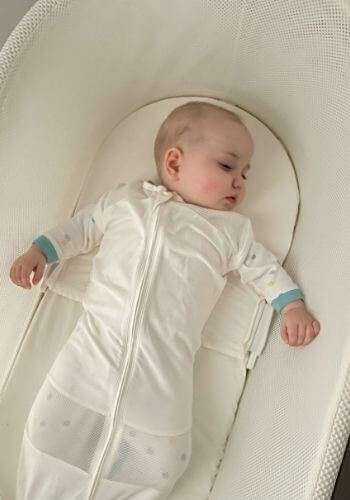 what to wear in snoo - 5 month old in weaning mode