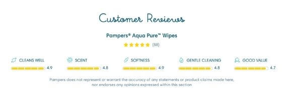 pampers aqua pure review